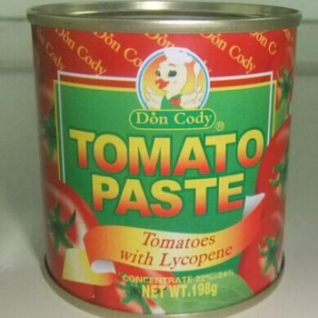 Tomato paste 198g×48 – Hard Open Lid – tomatopaste1-20