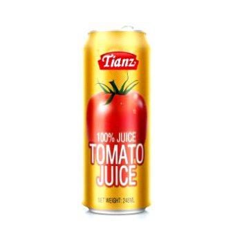 Tomato Juice Drink – 248ml×24 – Easy Open Lid – Tomatojuice-01
