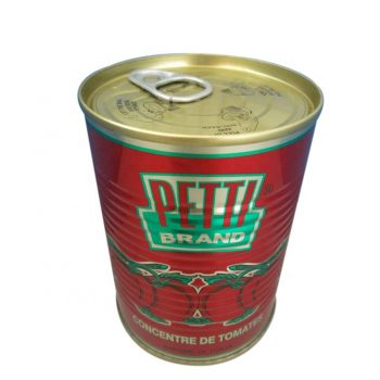Canned Tomato Paste 28%-30%  tin tomato paste