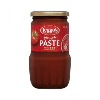 Jar Glass Tomato Paste 500g
