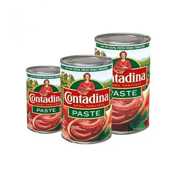 Canned Tomato Paste Sizes Available in 6oz, 12oz, 18oz